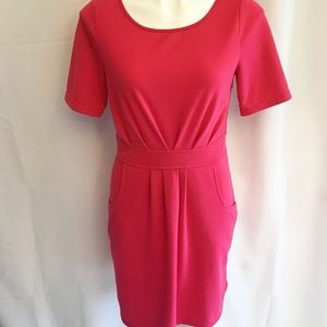 41 HAWTHORN   Dress Pink Pockets Medium